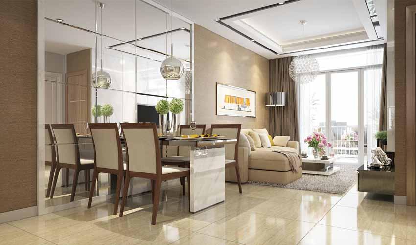 Nội thất căn hộ tại dự án Vincity Đại Mỗ