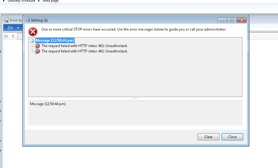 DAX Dude - Dynamics AX: AX SSRS Error: The request failed with HTTP