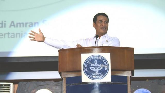Produktivitas Pertanian Hingga Berantas Mafia Pangan Jadi Bahasan Dialog Mentan di Kuliah Umum IPB