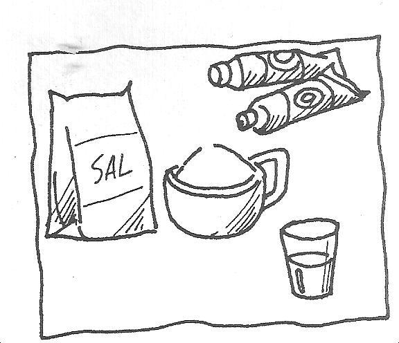 Sal Y Pimienta Dibujos Para Colorear