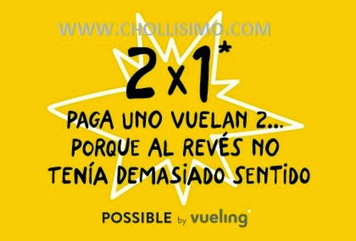 Vueling, chollo