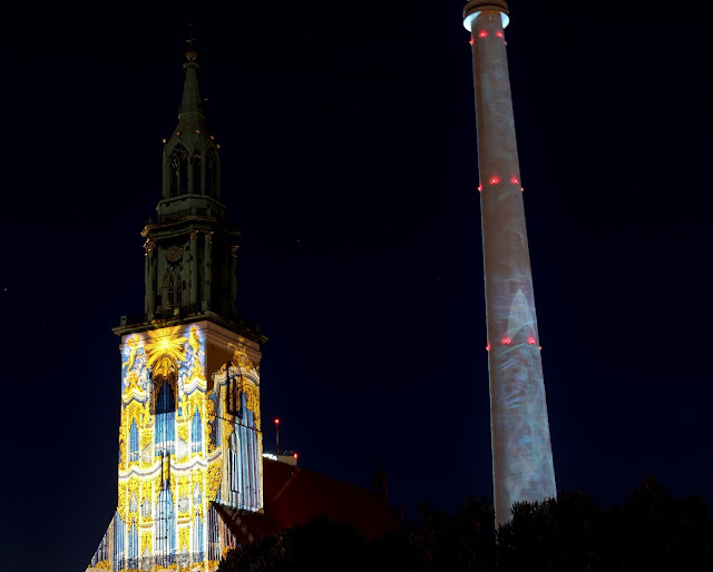 Marienkirche - Festival of Lights 2017