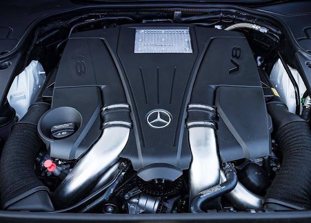 Động cơ Mercedes S500 Cabriolet 2019 vận hành mạnh mẽ và vượt trội