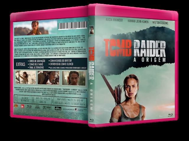 Capa Bluray Tomb Raider A Origem [Exclusiva]