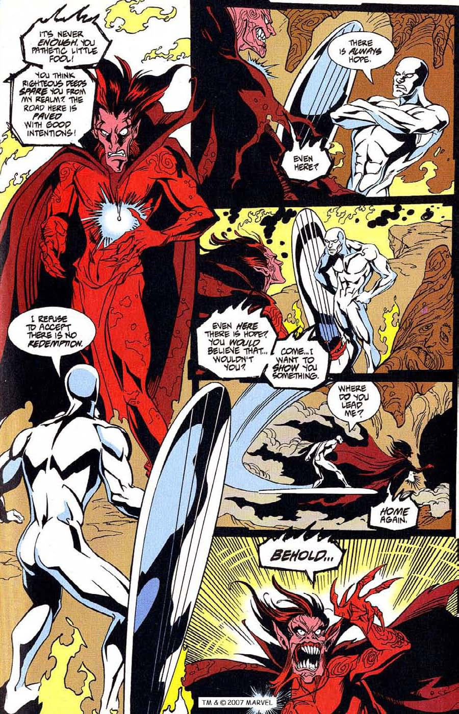 Read online Silver Surfer (1987) comic -  Issue #100 - 23