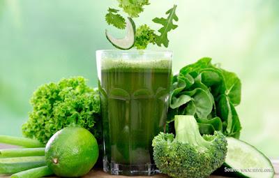 resep diet alami dan cepat menggunakan jus