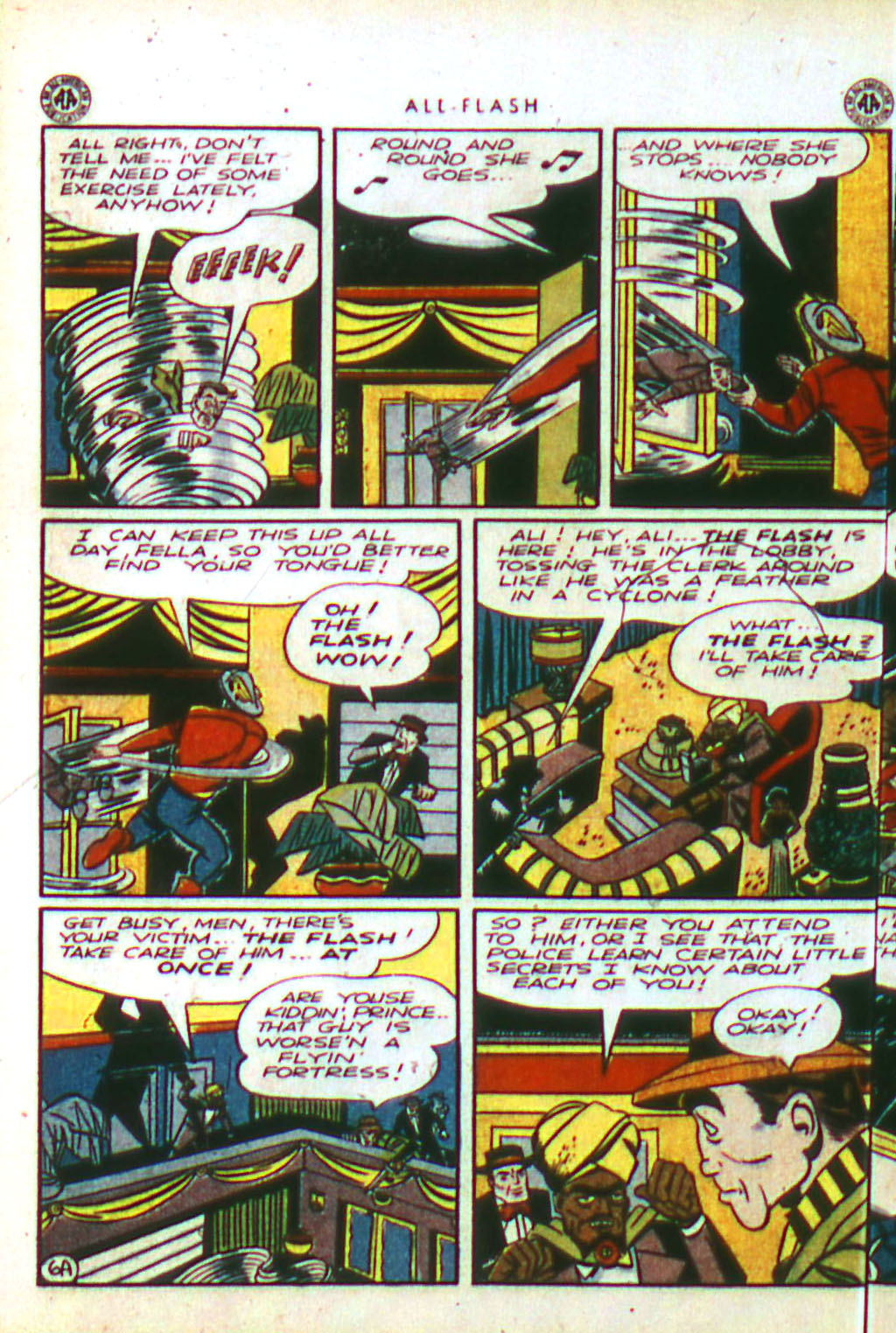 Read online All-Flash comic -  Issue #18 - 8