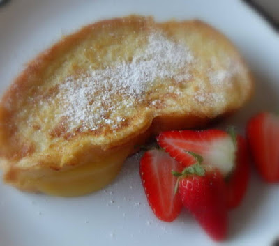 Lemon Stuffed French Toast