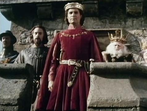 El príncipe Humperdink (Chris Sarandon) en La princesa prometida - Cine de Escritor