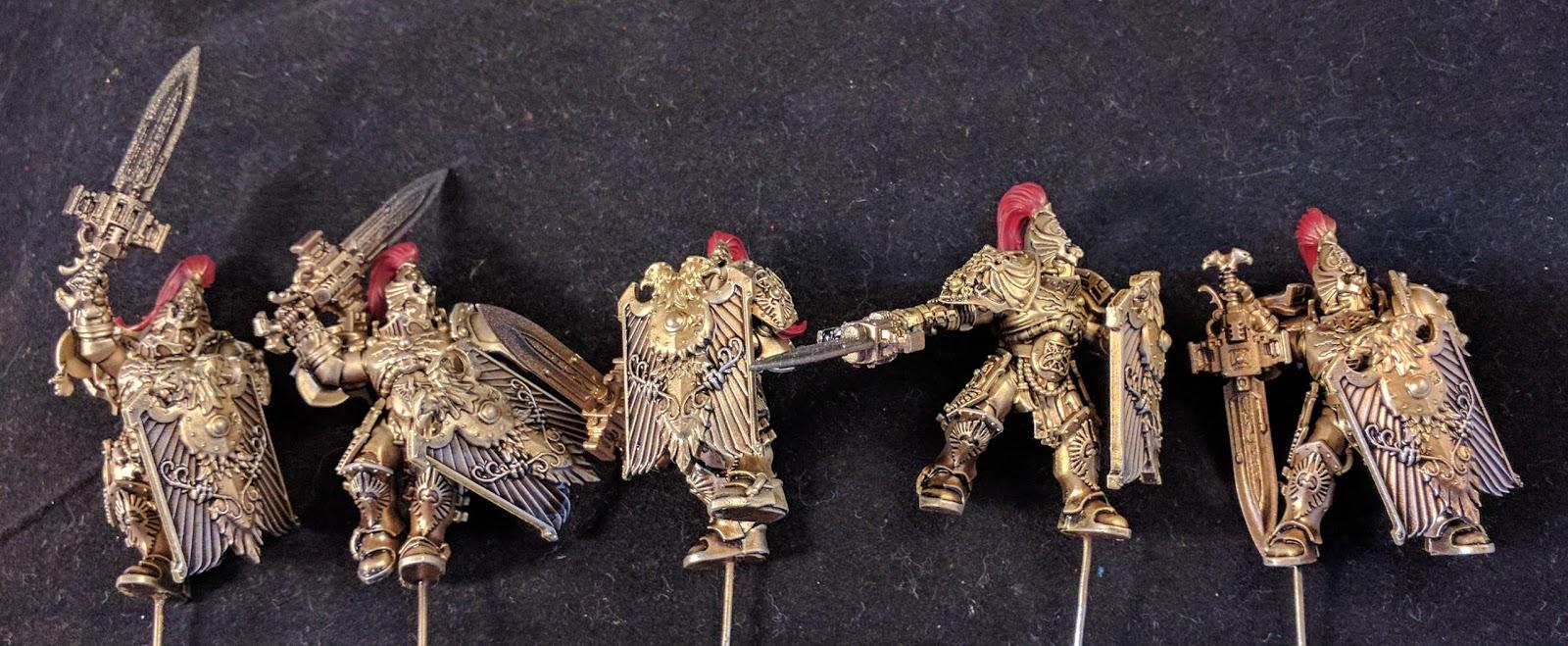 Warhammer 40K//30K Horus Heresy Adeptus Custodes CUSTODIAN GUARD SQUAD New Sealed