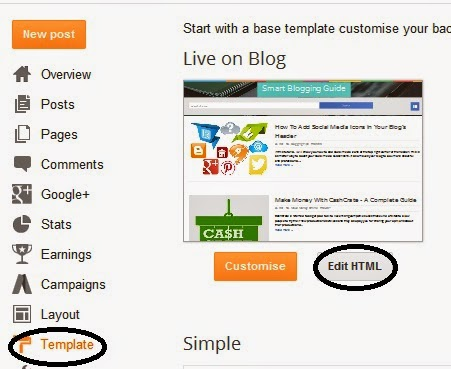 Add a Box For Showing HTML Codes in Blog Post