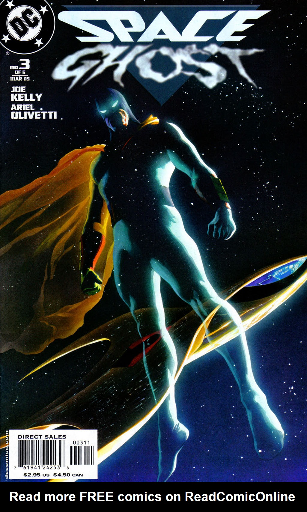 Read online Space Ghost (2005) comic -  Issue #3 - 1