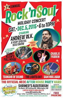 Northeast Comic Con And Collectibles Extravaganza - the 7th Annual Rock n' Soul Holiday Concert