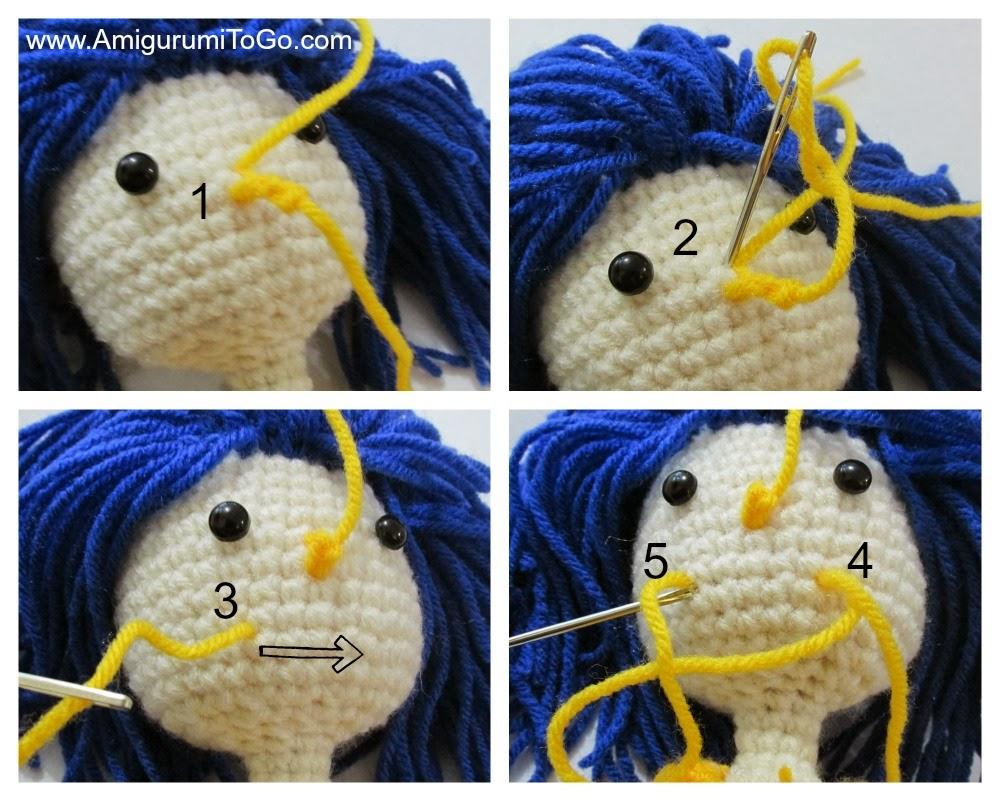Amigurumi To Go Coraline : Coraline doll revised and improved amigurumi to go