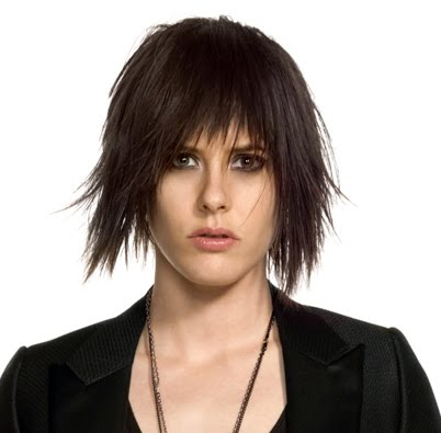 Hairstyles Katherine Moennig S Wicked Shaggy Hair
