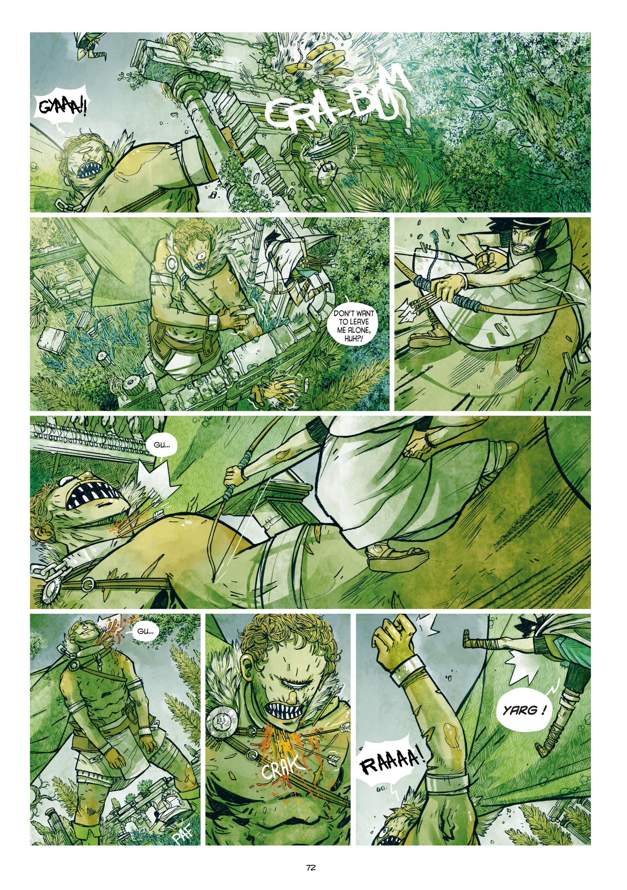 Read online Adrastée comic -  Issue #1 - 73