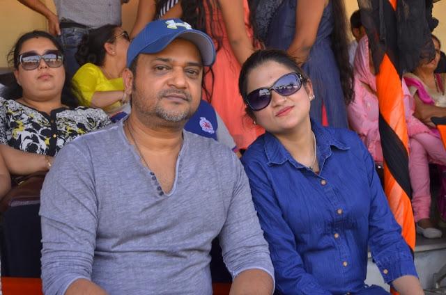 Sajid khan with Sister Rohee Ali khan