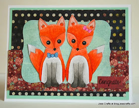 Card featuring Jess Crafts Digital Stamp jesscrafts.com