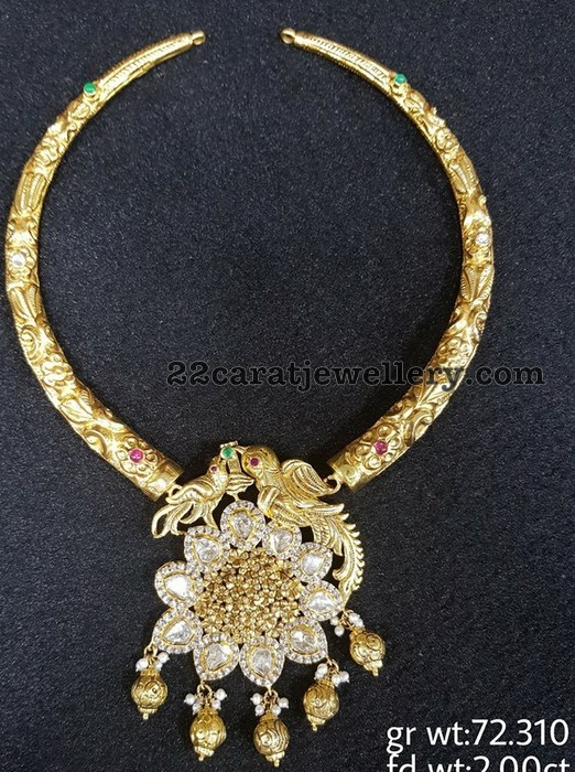 Traditional Kante with Diamond Locket