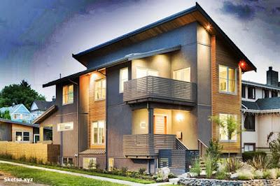 Desain rumah minimalis gaya eropa