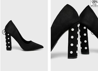Pantofi eleganti din catifea de ocazii cu toc gros inalt Medicine - Pumps Essential