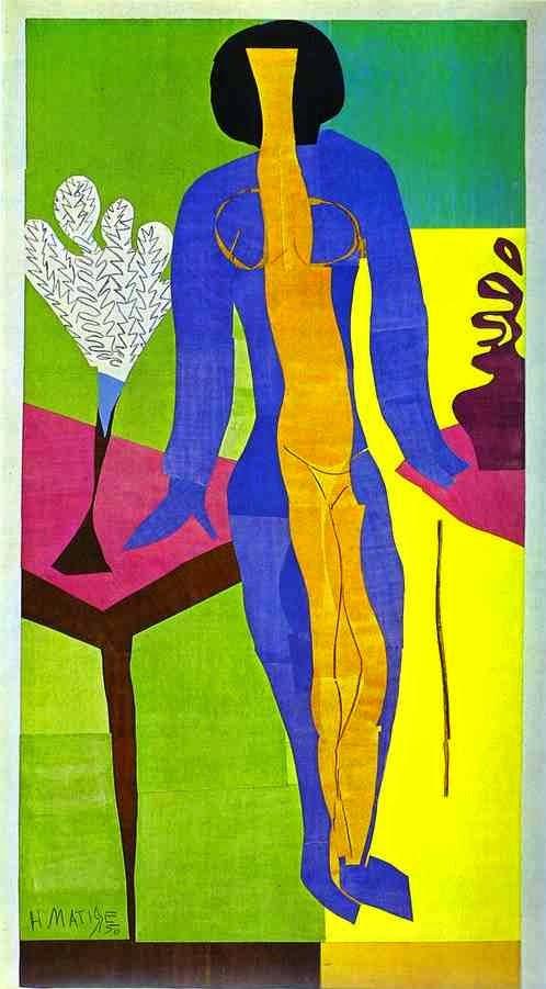 Zulma - Pinturas de Matisse, Henri - (Fauvismo) Francês