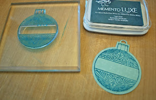 Image result for Just rite heritage Christmas Ornament Stamp Set