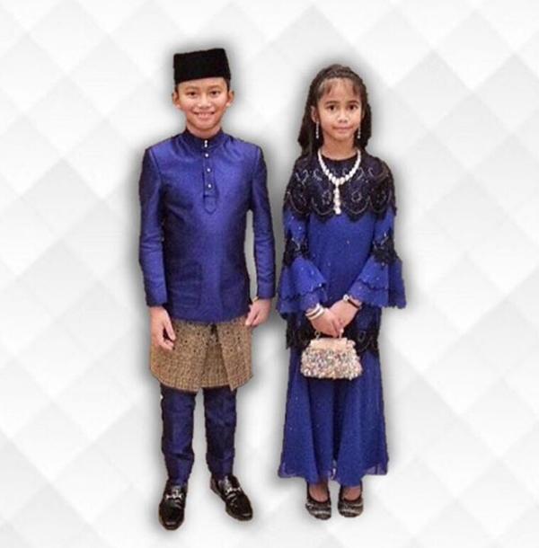 Gambar Putera & Puteri Azrinaz Mazhar Hakim, Bekas Isteri Sultan Brunei Yang Tidak Pernah Dilihat!