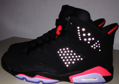 c9003c3ff72c3f Authentic Air Jordan 6 Black Infrared 3 m Reflective there is no External  Label on the shoe box. Free Shipping Price US  225.00. Shop ...