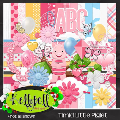 Timid Little Piglet Kit