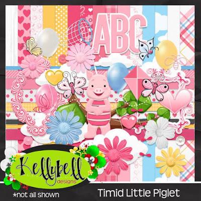Timid Little Piglet Kit