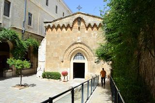 terra santa jerusalem - capela da flagelação