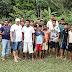 Atendendo solicitações dos vereadores Orley Soares e Samuel do Corujinha governo municipal dá início à construção de 02 quadras esportivas na comunidade do Jacarequara