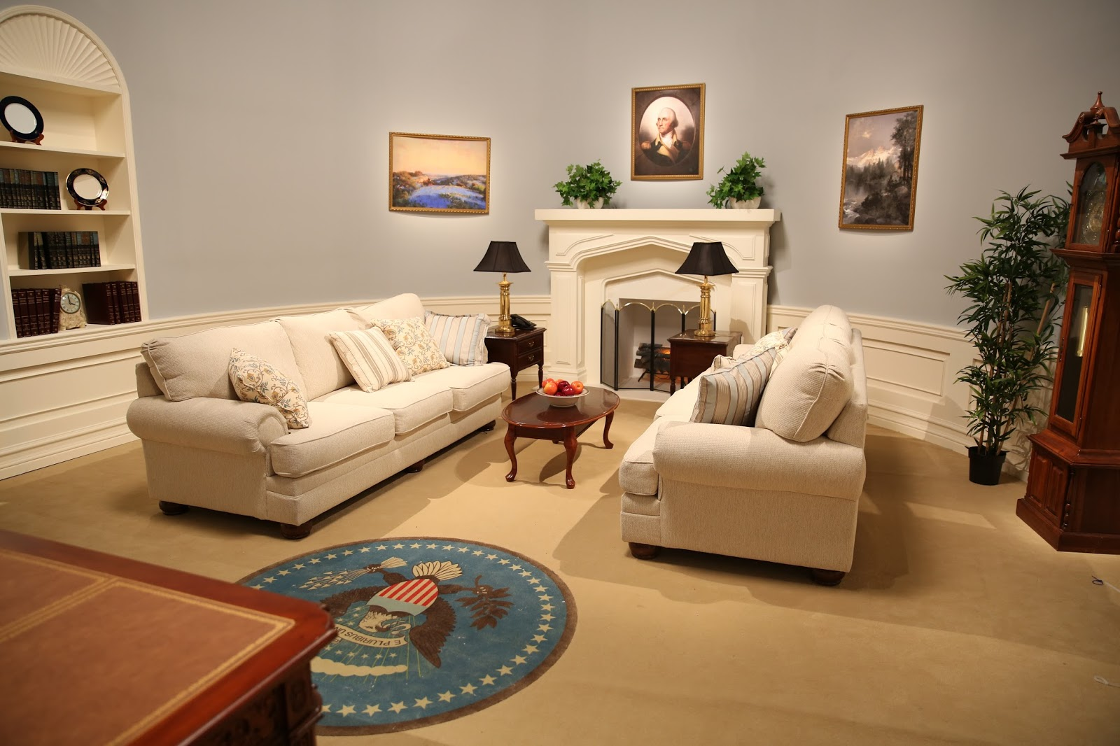 reagan oval office. History Of The Oval Office. Office E Reagan