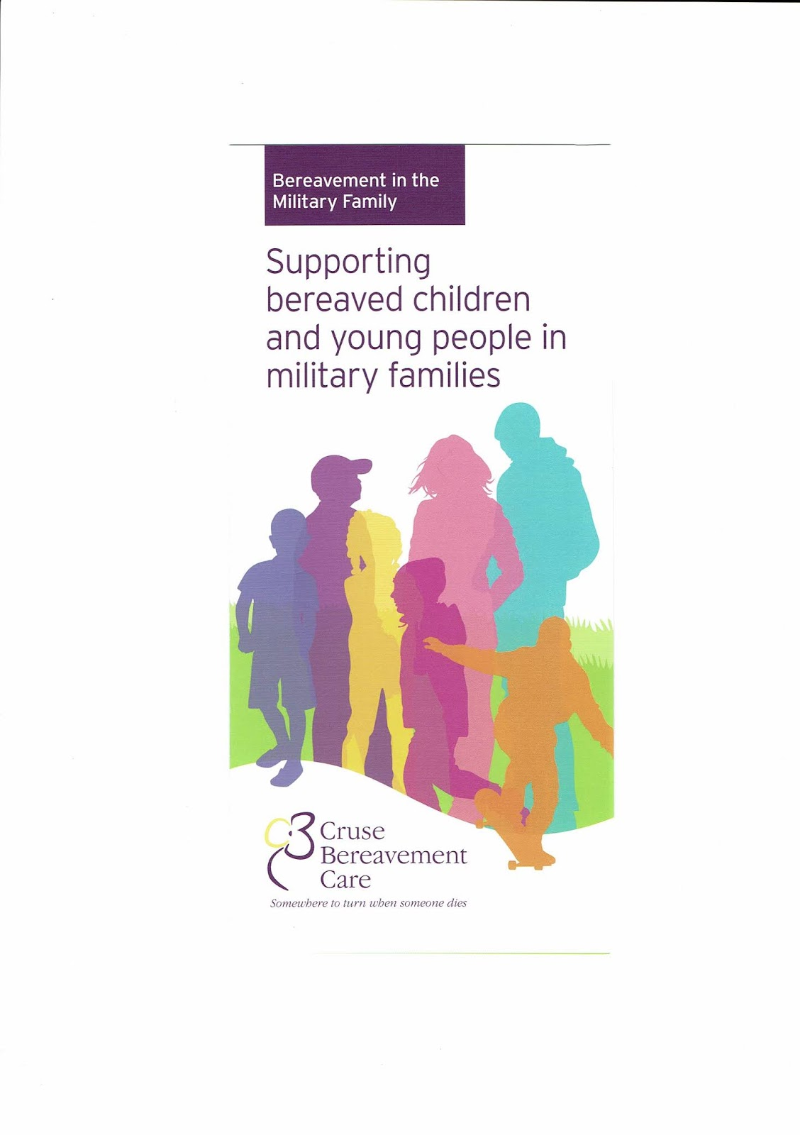 Supporting Bereaved Children & Young People In Military Families