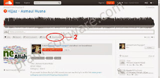 Button Download di Soundcloud