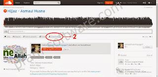 Button Download di Soundcloud