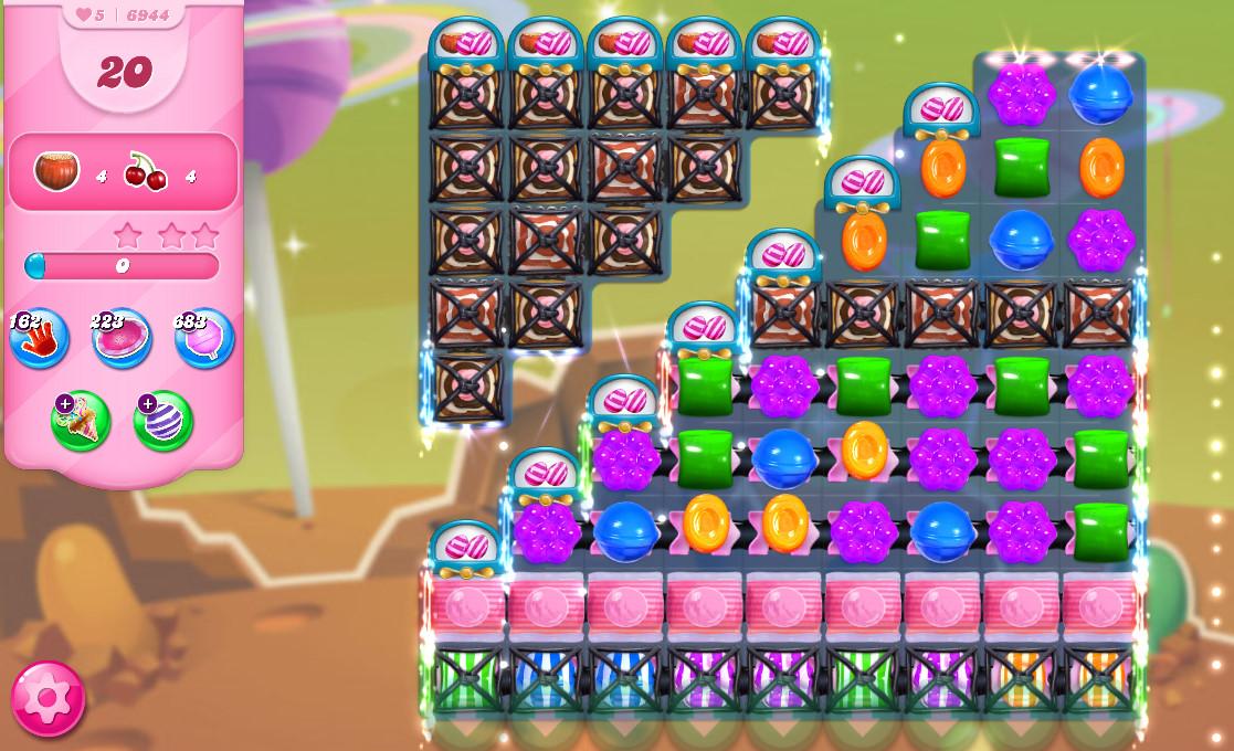 Candy Crush Saga level 6944