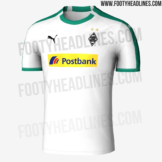 The new Borussia Mönchengladbach 2018-2019 collection is set for a release  in early July 2018 ec7275ff7