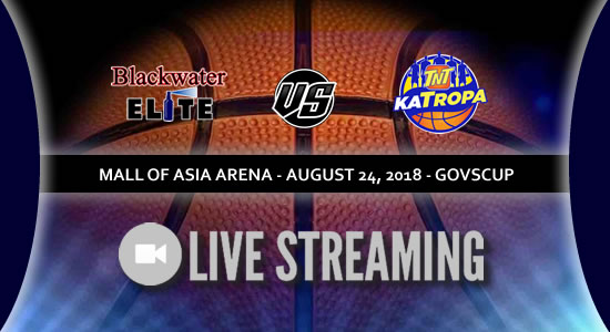 Live Streaming List: Blackwater vs TNT Katropa 2018 PBA Governors' Cup