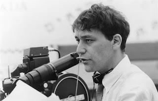 El director Sam Raimi en el rodaje de Darkman
