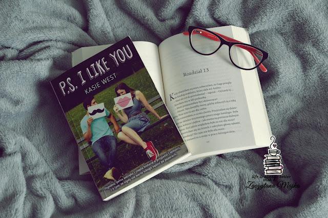 """Kim jest tajemnicza bratnia dusza Lily? - recenzja książki #189 - Kasie West """"P.S. I Like You"""""""
