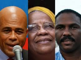 Martelly, Mirlande Manigat, Jude Célestin: les protagonistes des élections présidentielles de 2010