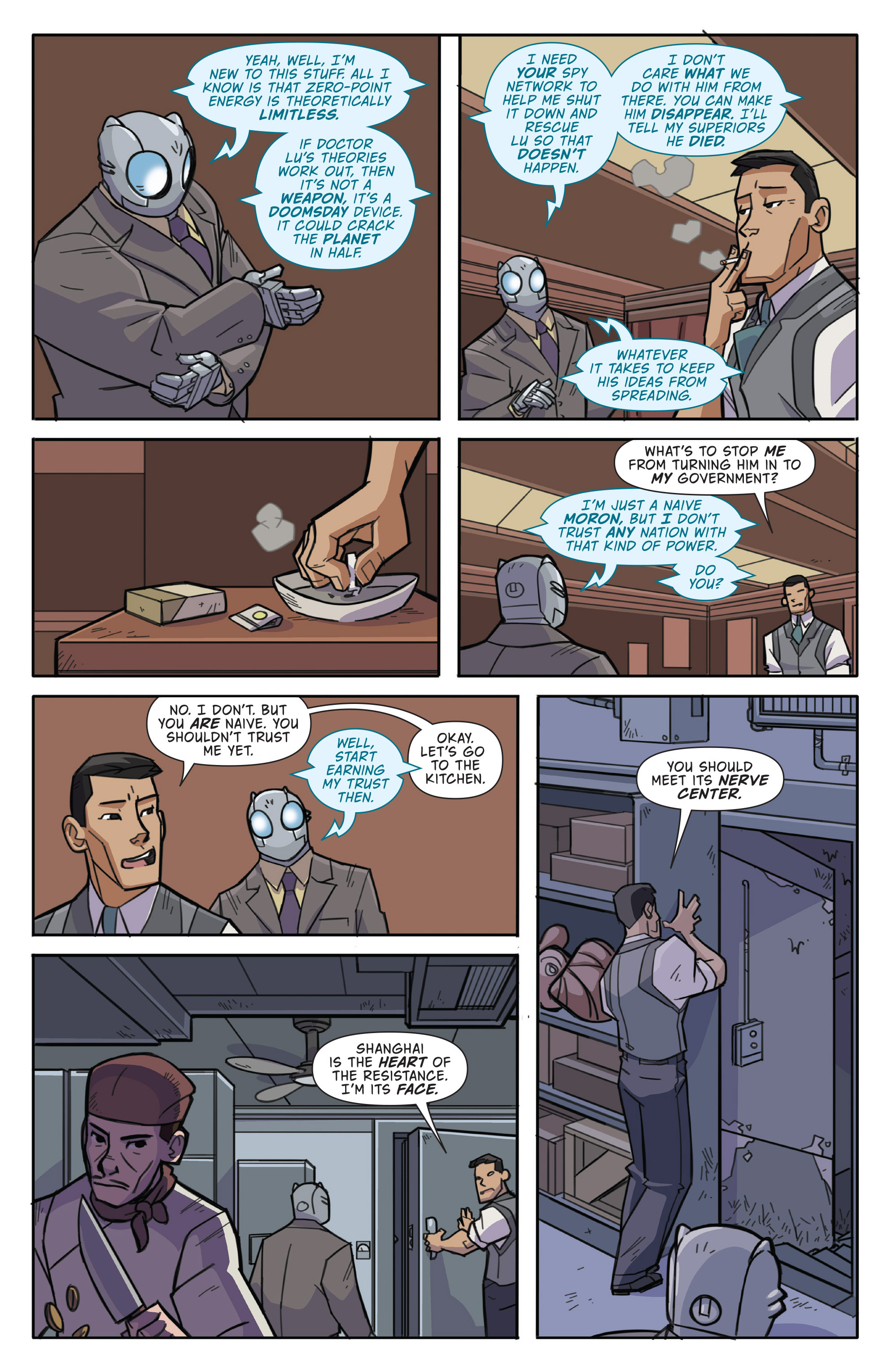 Read online Atomic Robo and the Temple of Od comic -  Issue #1 - 16