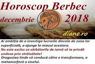 Horoscop Berbec decembrie 2018