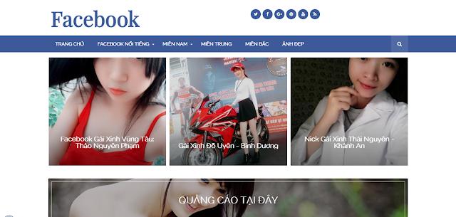 [Share] Template Chia Sẻ Gái Xinh Facebook Cực Đẹp