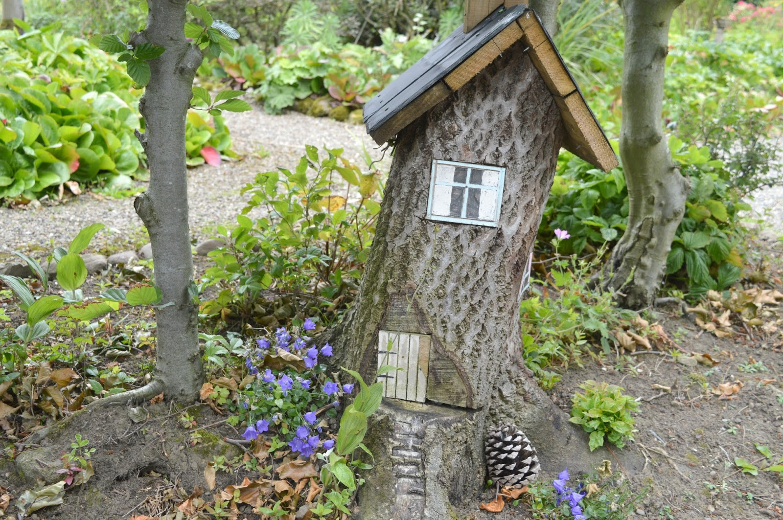 Gateshead's Great Outdoors - Birkheads Secret Gardens Fairy House