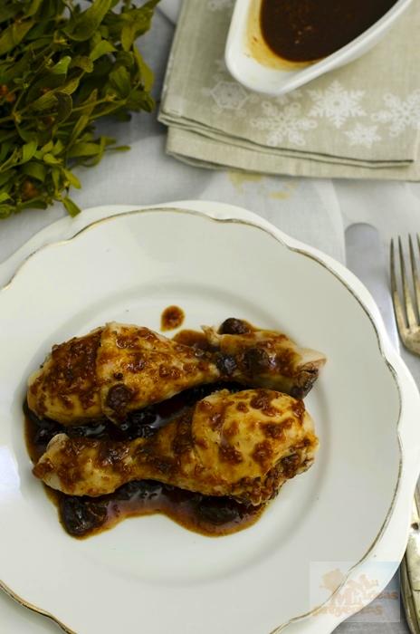 Muslos de pollo en salsa de whisky y pasas en thermomix for Muslos pollo en salsa