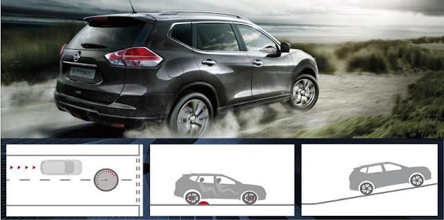 CHASSIS CONTROL mobil suv Xtrail