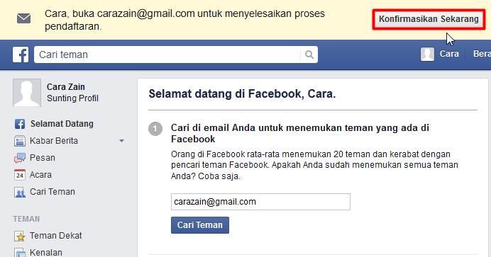 Cara Membuat Facebook Baru Gratis Daftar Akun FB